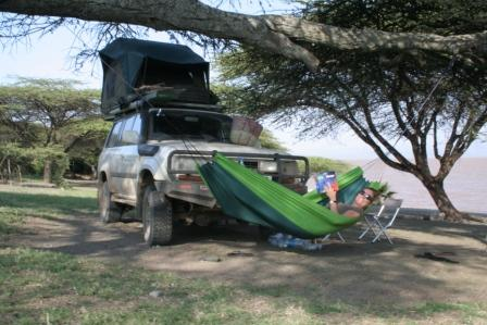 Honestly, it's tough this overlanding malarkey