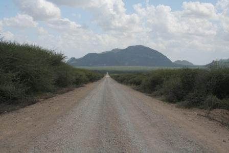 Long and bumpy Marsabit - Isiolo Road