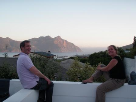View over Hout Bay, from Hout Bay View!